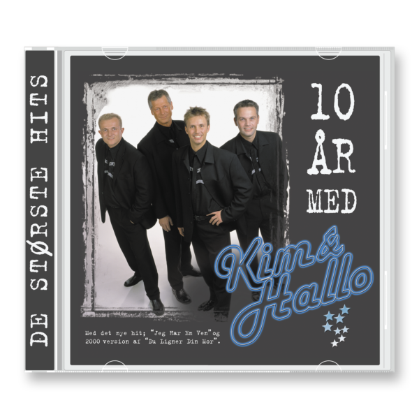 CD – 10 år med Kim & Hallo