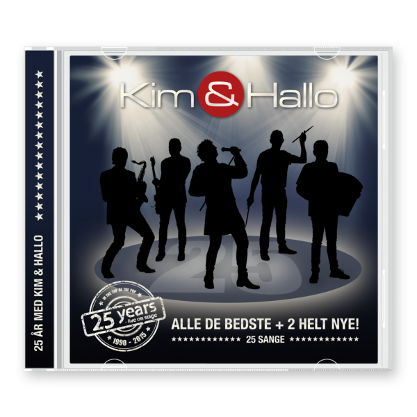 CD – 25 år med Kim & Hallo