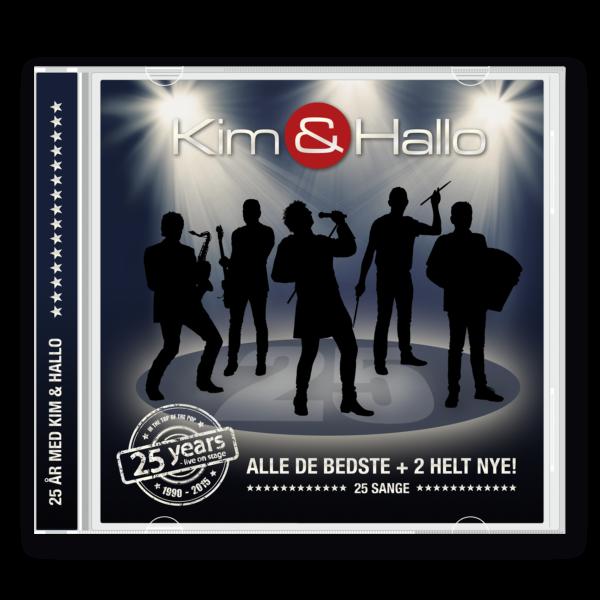 CD – 25 år med Kim & Hallo