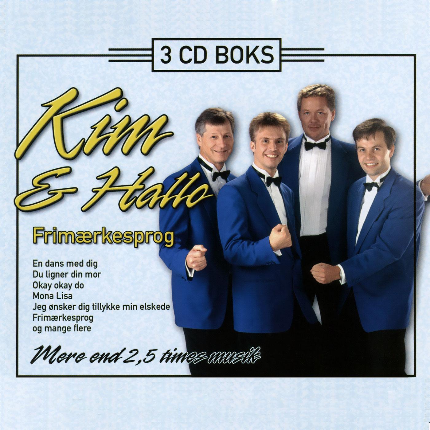3 CD boks